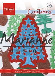 Marianne Design - Creatables Die - Tiny's Christmas Tree with Stars