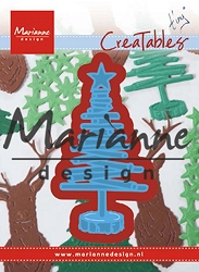 Marianne Design - Creatables Die - Tiny's Christmas Tree Wood