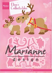 Marianne Design - Collectables Die - Eline's Reindeer