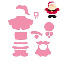 Marianne Design - Collectablies Die - Eline's Santa :)