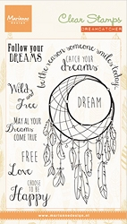 Marianne Design - Clear Stamp - Dreamcatcher