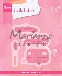 Marianne Design - Collectables Die - Village Vehicles (Cars)
