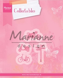 Marianne Design - Collectables Die - Village Vehicles (Bikes)