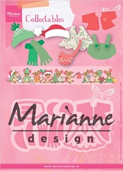 Marianne Design - Collectables Die - Eline's Winter Outfits