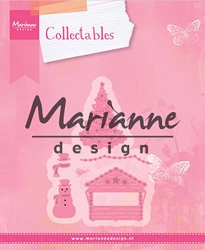 Marianne Design - Collectables Die - Christmas Village Decorations