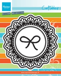 Marianne Design - Craftables Die - Doily Circle Frame & Twine Knot