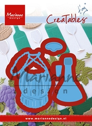 Marianne Design - Creatables Die - Tiny's Italian Wine Bottle