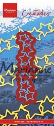 Marianne Design - Creatables Die - Lots of Stars Border