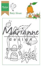 Marianne Design - Clear Stamp - Hetty's Fairy House