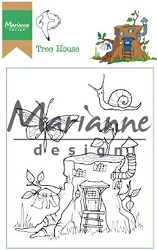 Marianne Design - Clear Stamp - Hetty's Tree House