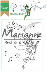 Marianne Design - Clear Stamp - Hetty's Musical Fairy