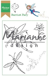Marianne Design - Clear Stamp - Hetty's Stardust Fairy