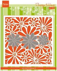 Marianne Design - Embossing Folder + Die Set - Daisies