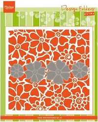 Marianne Design - Embossing Folder + Die Set - Poppies