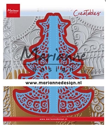 Marianne Design - Creatables Die - Christmas Gate Folding Die