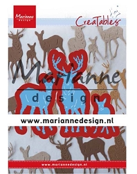 Marianne Design - Creatables Die - Tiny's Deer Family