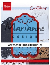Marianne Design - Creatables Die - Brocante Label