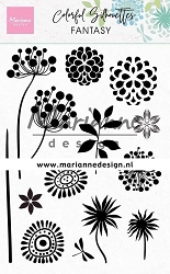 Marianne Design - Clear Stamp - Colorful Silhouettes Fantasy