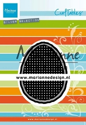 Marianne Design - Craftables Die - Cross Stitch Easter Egg