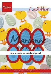 Marianne Design - Creatables Die - Easter Eggs
