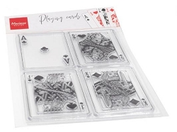 Marianne Design - Clear Stamp - Playing Cards