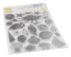 Marianne Design - Clear Stamp - Silhouette Sea Shells