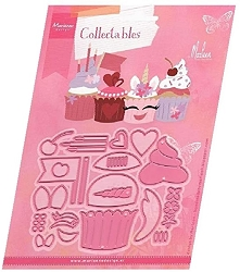 Marianne Design - Collectables Die - Cupcakes By Marleen