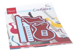 Marianne Design - Creatables Die - Guitar by Marleen
