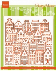 Marianne Design - Embossing Folder - Dutch Houses