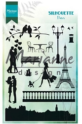 Marianne Design - Clear Stamp - Silhouette Paris