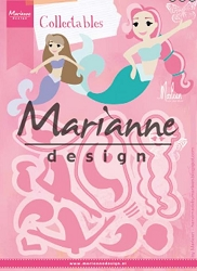 Marianne Design - Collectables Die - Mermaids by Marleen
