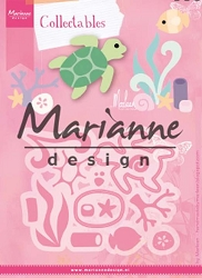 Marianne Design - Collectables Die - Sealife by Marleen