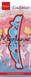 Marianne Design - Creatables Die - Seashell Border