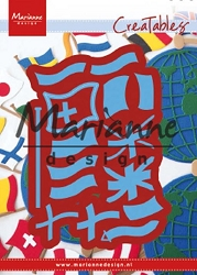 Marianne Design - Creatables Die - Flags