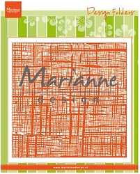 Marianne Design - Embossing Folder - Linen