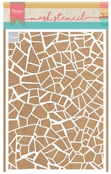 Marianne Design - Stencil - Broken tiles Design Mask