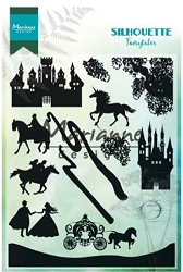 Marianne Design - Clear Stamp - Silhouette Fairytales