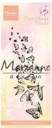 Marianne Design - Clear Stamp - Tiny's Border Butterflies