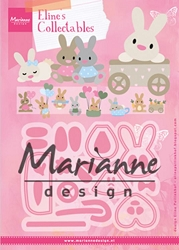 Marianne Design - Collectables Die - Eline's Baby Bunny