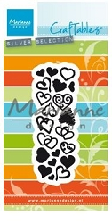 Marianne Design - Craftables Die - Punch Die Sweet Hearts
