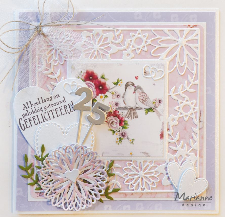 Marianne Design - new dies & stamps for Spring