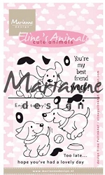 Marianne Design - Clear Stamp - Eileen's Cute Animals Puppies