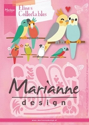 Marianne Design - Collectables Die - Eline's Birds