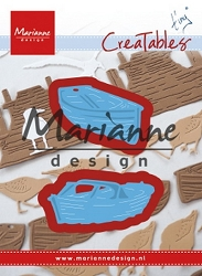 Marianne Design - Creatables Die - Tiny's Boats