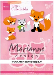 Marianne Design - Collectables Die - Eline's Fox
