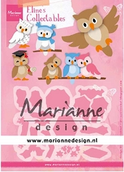 Marianne Design - Collectables Die - Eline's Owl