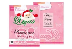 Marianne Design - Collectables Die - Eline's Santa & Xmas die set
