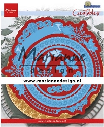 Marianne Design - Creatables Die - Petra's Winter Circle