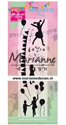 Marianne Design - Clear Stamp - Silhouette Party