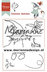 Marianne Design - Clear Stamp - Hetty's Gnomes Autumn